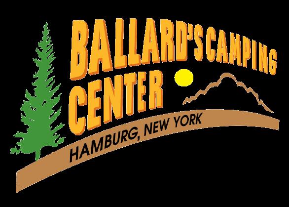 Ballard's Camping Center Logo